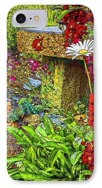 Garden Bouquet IPhone Case by Nancy Marie Ricketts