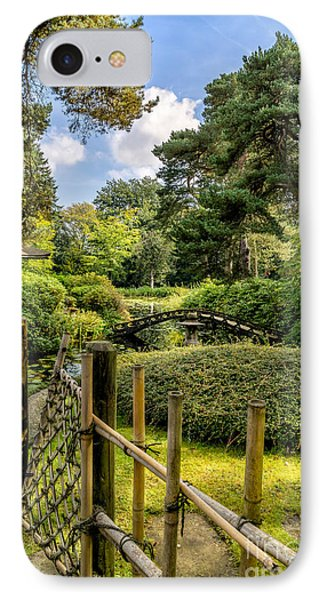 Garden Bridge IPhone Case