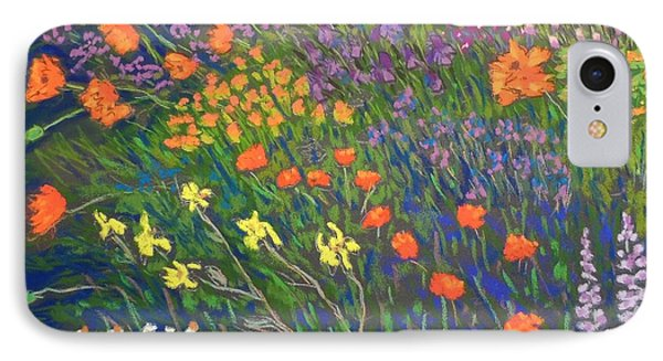 Garden By The Sea IPhone Case by Rae  Smith