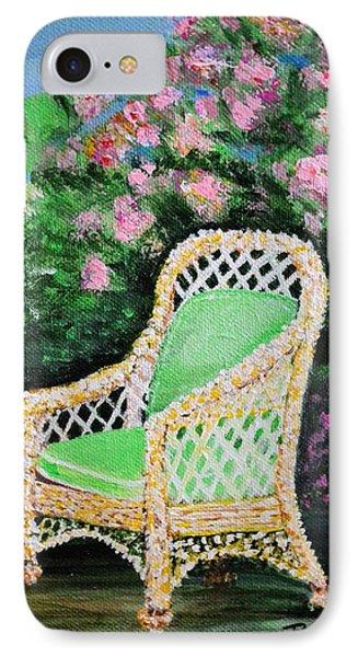 Garden Chair IPhone Case