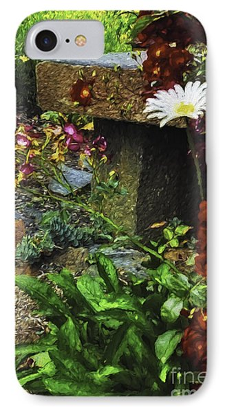 Garden Color IPhone Case by Nancy Marie Ricketts