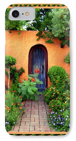 Garden Delights Mesilla Phone Case by Kurt Van Wagner
