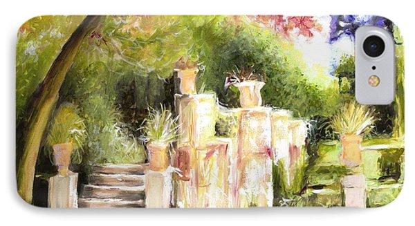 Garden Entrance IPhone Case by Melissa Herrin