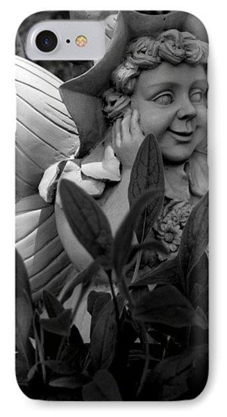 Garden Fairy Statue IPhone Case