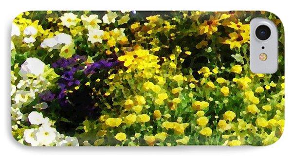 Garden Flowers IPhone Case by Oleg Zavarzin