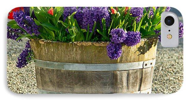 Garden In A Bucket IPhone Case by Eti Reid