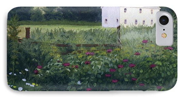 Garden In The Back IPhone Case by Lynne Reichhart