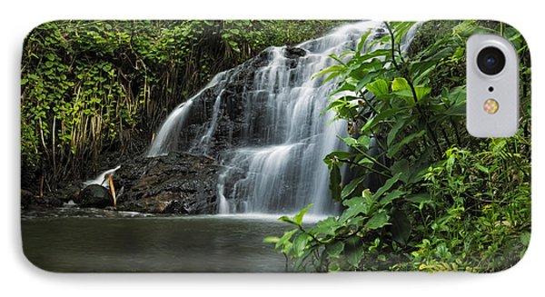 Garden Isle Waterfall IPhone Case by Hawaii  Fine Art Photography