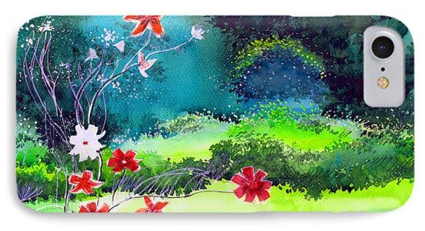 Garden Magic Phone Case by Anil Nene