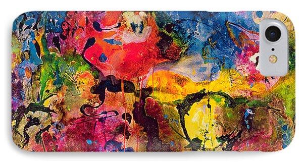 Garden Of Heavenly And Earthly Delights Phone Case by Jane Deakin