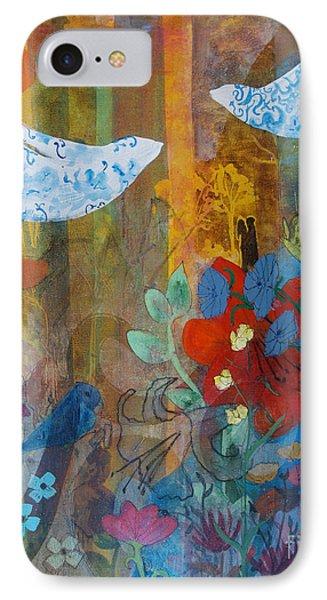 Garden Of Love IPhone Case by Robin Maria Pedrero