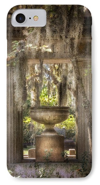 Garden Of Remembrance IPhone Case by Mark Andrew Thomas