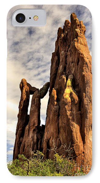 IPhone Case featuring the photograph Garden Of The Gods by Cheryl Davis