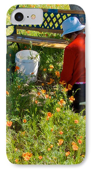 Garden Party In Park Sierra-ca Phone Case by Ruth Hager
