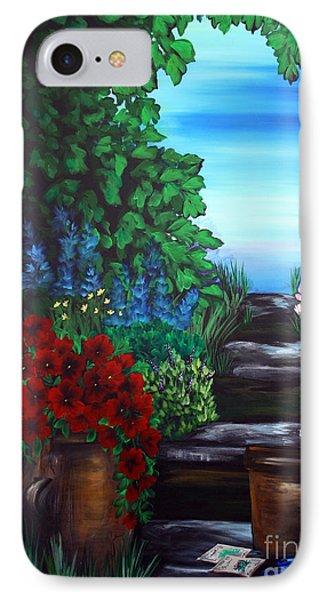Garden Path IPhone Case by Dani Abbott