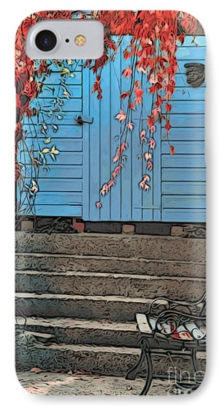 Garden Shed Phone Case by Paul Stevens