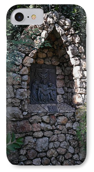 Garden Shrine - 13th Station Of The Cross IPhone Case