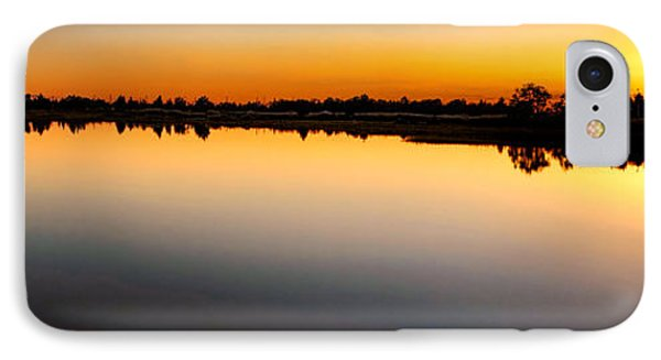 Garden State Sunset IPhone Case by Olivier Le Queinec