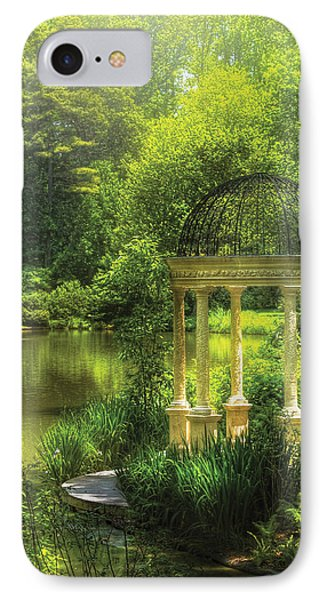 Garden - The Temple Of Love Phone Case by Mike Savad