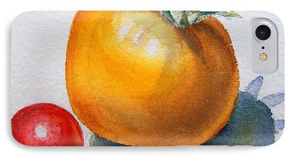 Garden Tomatoes IPhone Case by Irina Sztukowski