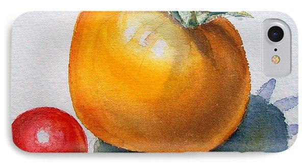 Garden Tomatoes IPhone 7 Case by Irina Sztukowski