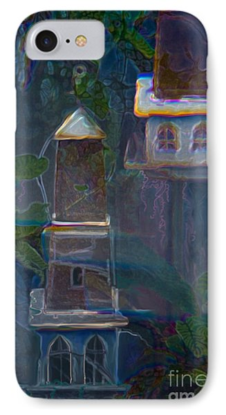 Garden Towers IPhone Case by Adria Trail