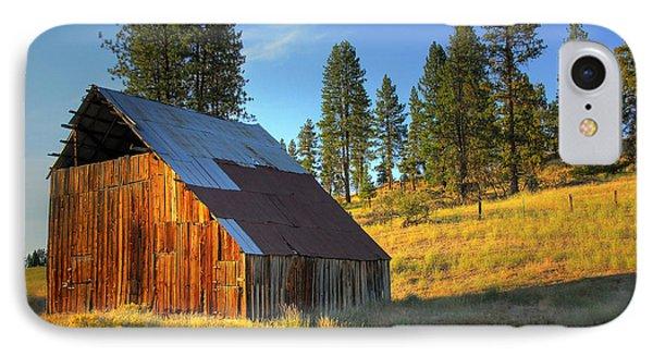 IPhone Case featuring the photograph Garden Valley Barn by Sam Rosen