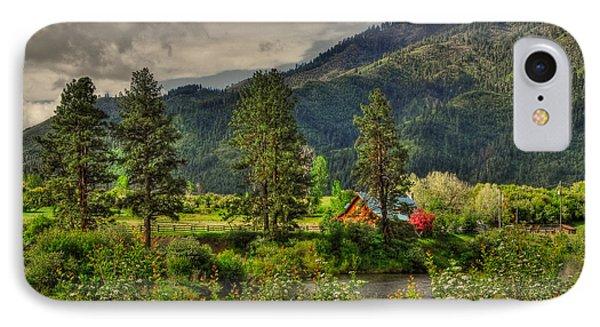 IPhone Case featuring the photograph Garden Valley by Sam Rosen