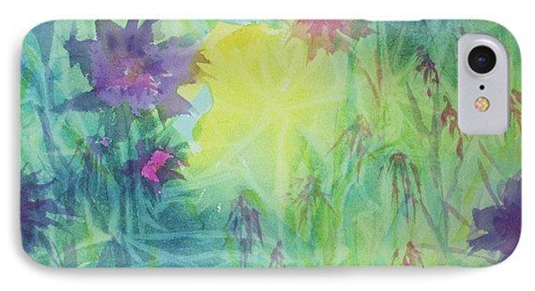 Garden Vortex IPhone Case by Ellen Levinson