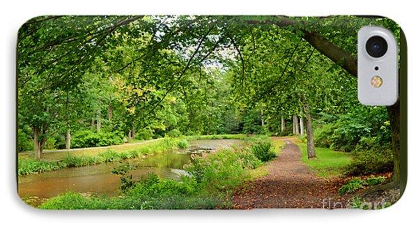 Garden Walk IPhone Case by Eva Kaufman