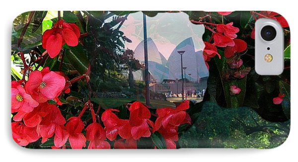 IPhone Case featuring the photograph Garden Whispers by Leanne Seymour