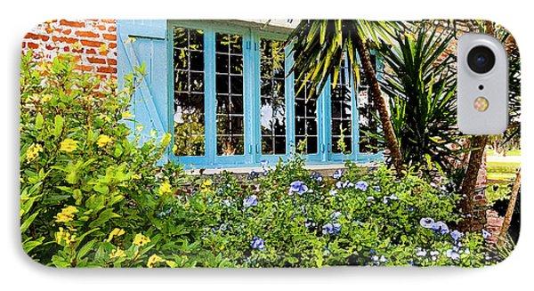 Garden Window Db Phone Case by Rich Franco