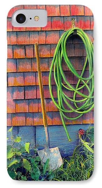 Gardener's Rest IPhone Case by Cindy McIntyre