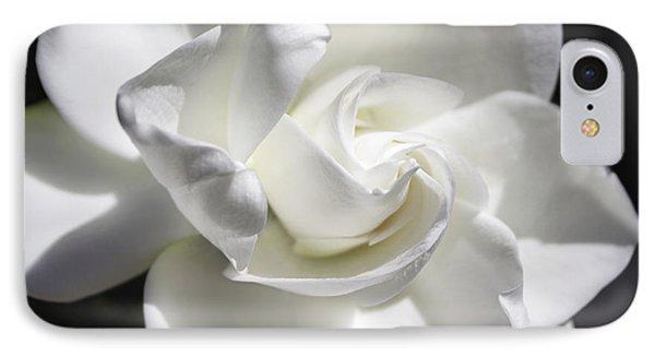 Gardenia IPhone Case by Arlene Carmel