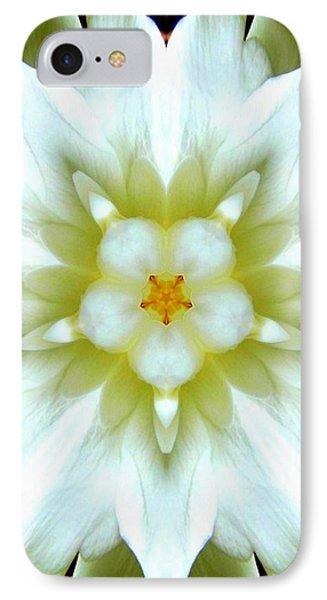 Gardenia Kaleidoscope 1 IPhone Case