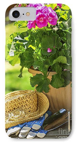 Gardening IPhone Case by Elena Elisseeva