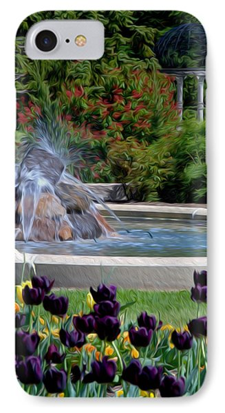 Gardens At Maymont IPhone Case by Kelvin Booker