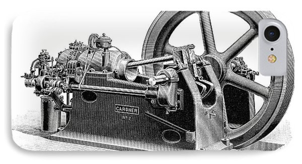 Gardner Gas Engine IPhone Case by Science Photo Library