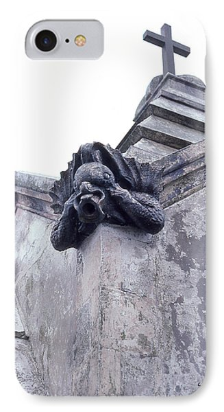 Gargoyle On The Italian Vault IPhone Case by Terry Webb Harshman