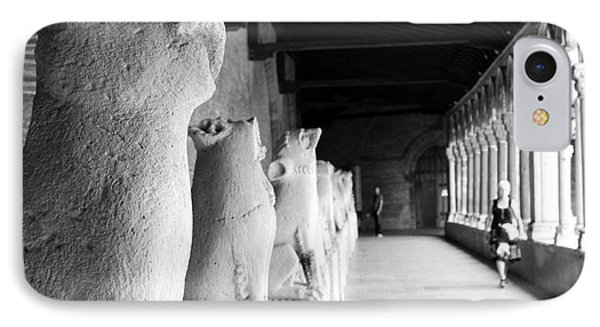 IPhone Case featuring the photograph Gargoyles by Cendrine Marrouat
