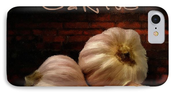 Garlic II IPhone Case by Lourry Legarde