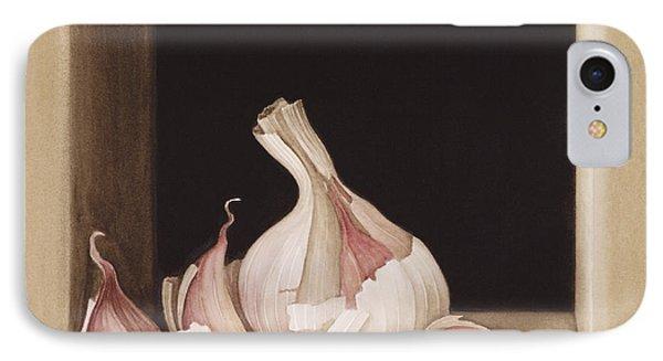 Garlic IPhone 7 Case by Jenny Barron