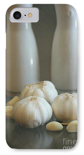 Garlic Vinegar And Oil Phone Case by Sophie Vigneault