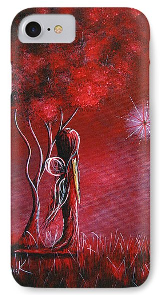 Garnet Fairy By Shawna Erback Phone Case by Shawna Erback