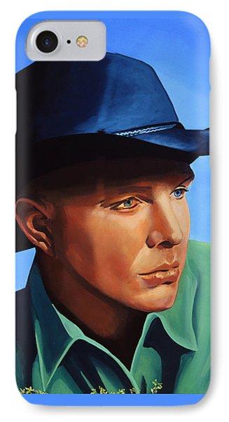 Saxophone iPhone 7 Case - Garth Brooks by Paul Meijering