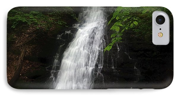 IPhone Case featuring the photograph Garvey Spring Falls by Debra Fedchin