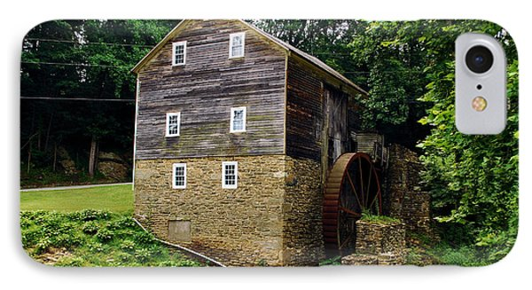 IPhone Case featuring the photograph Garvines Grist Mill by Bob Sample