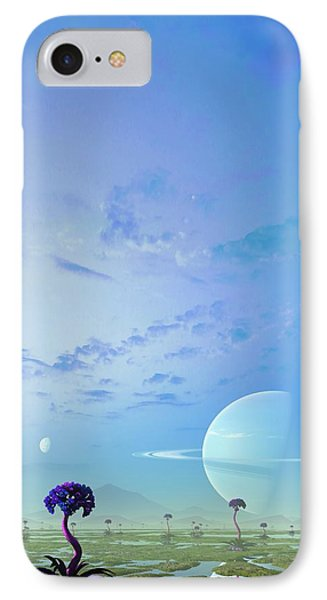 Gas Giant Planet 55 Cancri F IPhone Case by Mark Garlick
