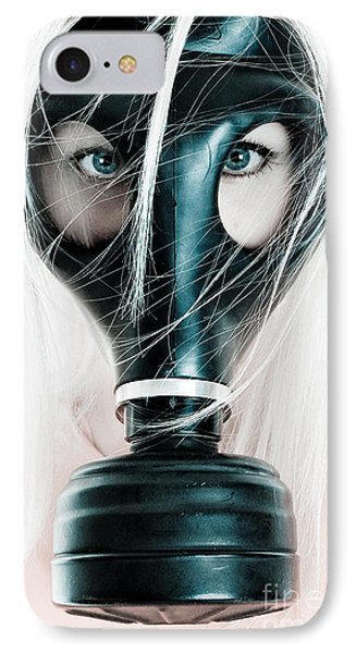 Gas Mask Phone Case by Jt PhotoDesign