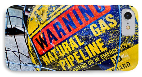 Gas Pipeline IPhone Case